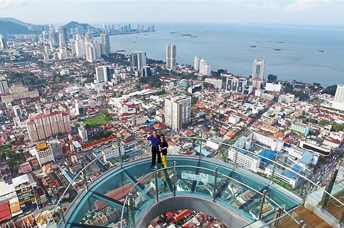 تفریحات پنانگ در تور مالزی