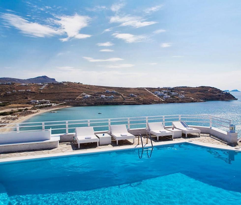 هتلی عالی در میکونوس یونان
