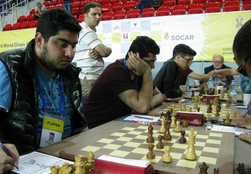 برتری تیم مردان و شکست تیم بانوان در دور هفتم المپیاد جهانی شطرنج