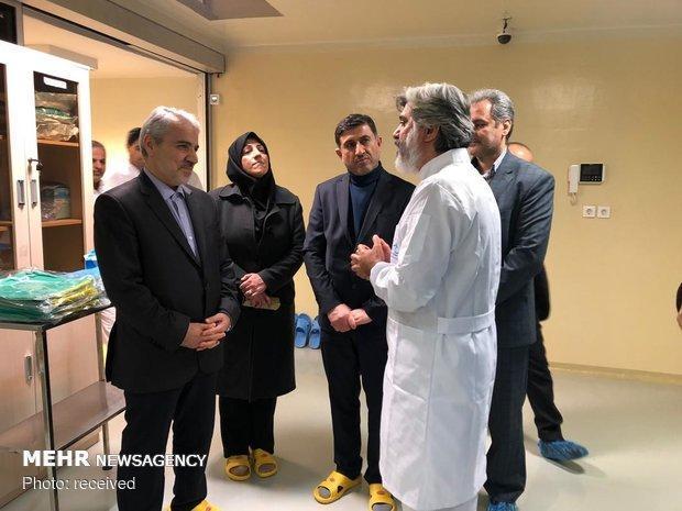 محمدباقر نوبخت از دستاوردهای موسسه رازی بازدید کرد