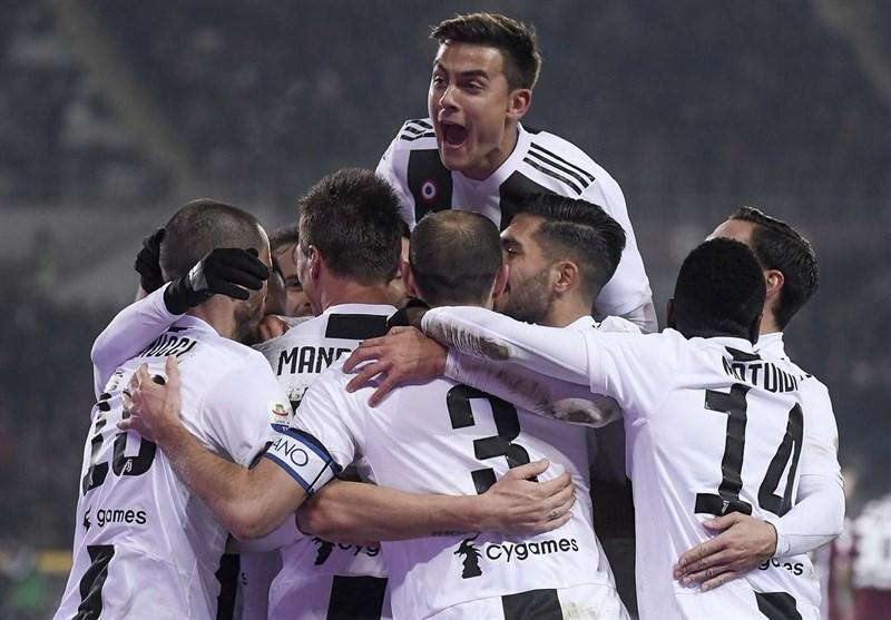 یوونتوس تنها تیم بدون شکست در لیگ های برتر اروپا