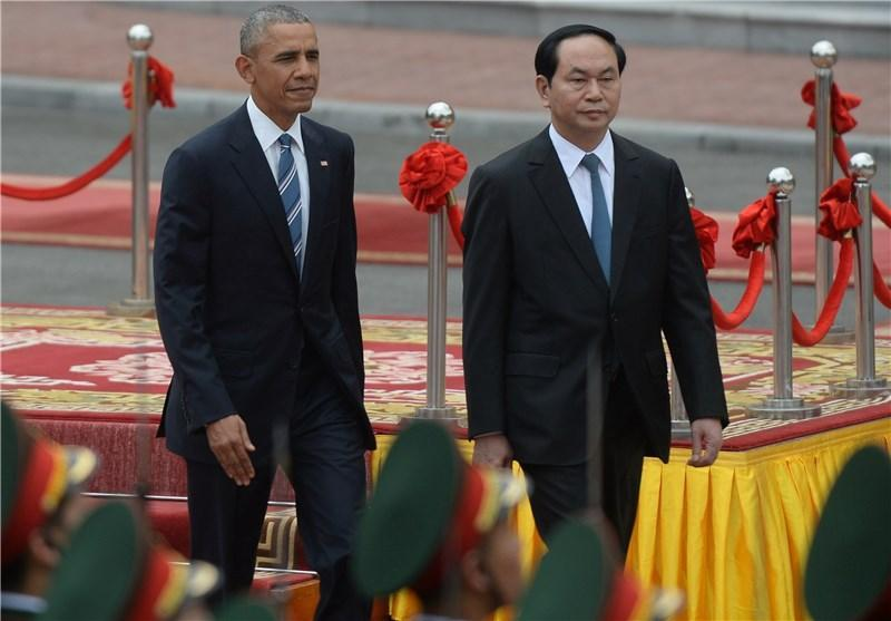 فیلتر شدن سایت فیسبوک در ویتنام در جریان سفر اوباما