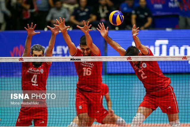 پیروز قاطع تیم ملی والیبال مقابل کانادا، ایران سه- کانادا صفر