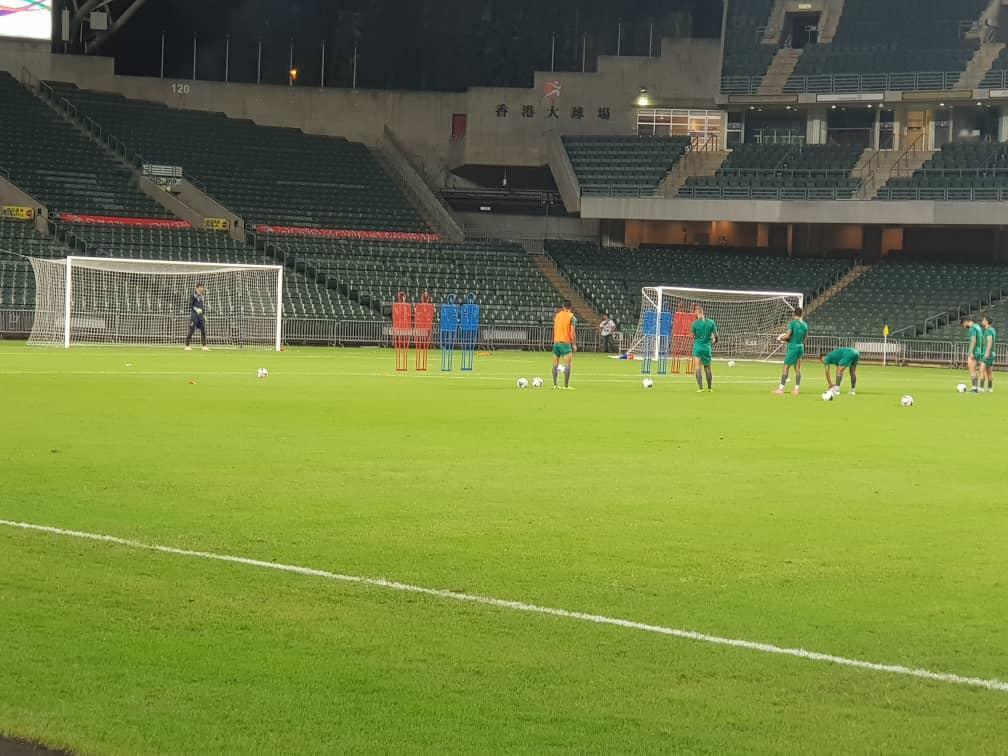 برگزاری آخرین تمرین تیم ملی فوتبال ایران پیش از دیدار مقابل هنگ کنگ