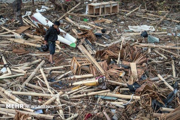 شمار مفقودین زلزله اندونزی از مرز 5 هزار نفر گذشت