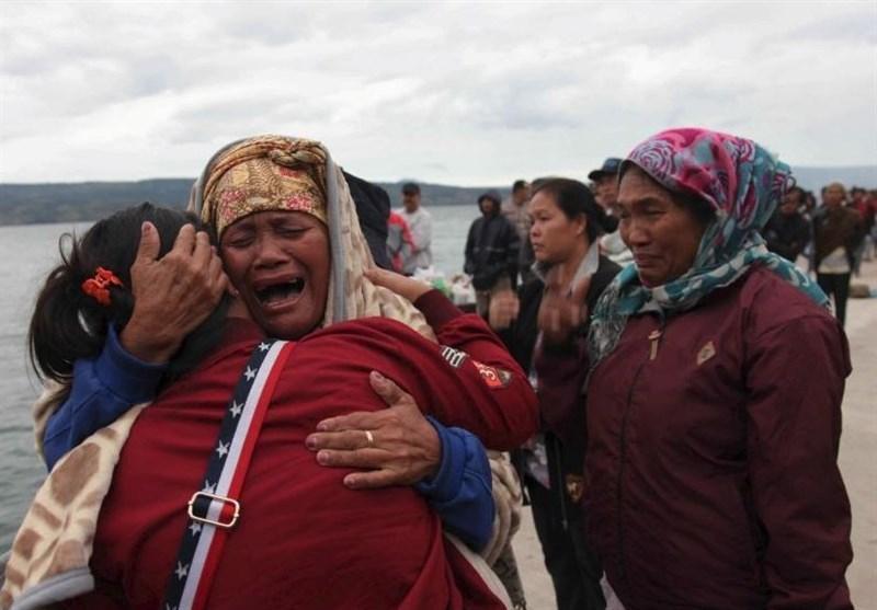 مفقود شدن 128 مسافر براثر غرق شدن قایق در اندونزی