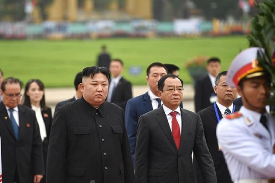 رهبر کره شمالی هانوی را ترک کرد