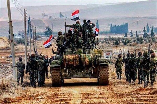 استقرار ارتش سوریه در مساحتی بالغ بر 90 کیلومتر در مرز با ترکیه