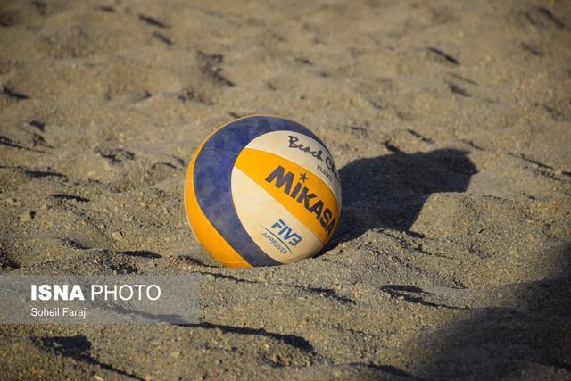 برنامه مرحله گروهی تیم های ملی والیبال ساحلی ایران در جاکارتا