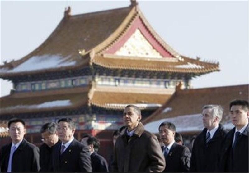 رئیس جمهور آمریکا وارد پکن شد