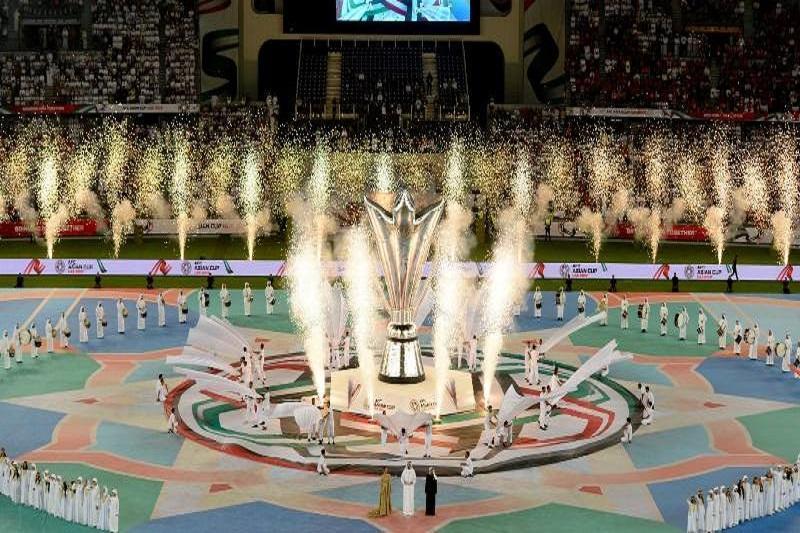 هفدهمین دوره جام ملت های آسیا شروع شد