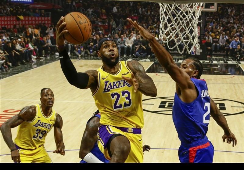 لیگ NBA، لیکرز و باکس پیروز شدند، شکست ساکرامنتو مقابل بوستون
