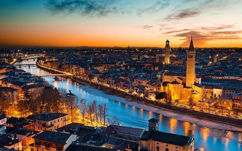 ورونا ایتالیا، پایتخت عشق دنیا و زادگاه رومئو و ژولیت!
