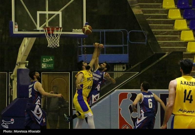 لیگ برتر بسکتبال، پتروشیمی از سد نفت آبادان گذشت، پیروزی شهرداری گرگان در آذرشهر