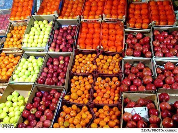 افزایش 5 تا 10 درصدی میوه های شب یلدا