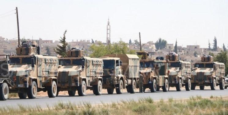 ترکیه تجیهزات جدید به شمال استان حماه سوریه فرستاد