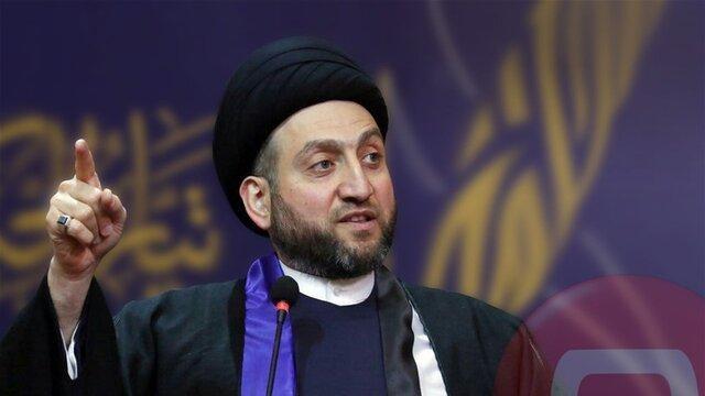 حکیم خواستار موضع قاطعانه دولت در قبال حمله آمریکا به مواضع حشد شعبی شد