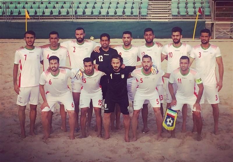 پیروزی تیم فوتبال ساحلی ایران مقابل عمان در ملاقات محبت آمیز