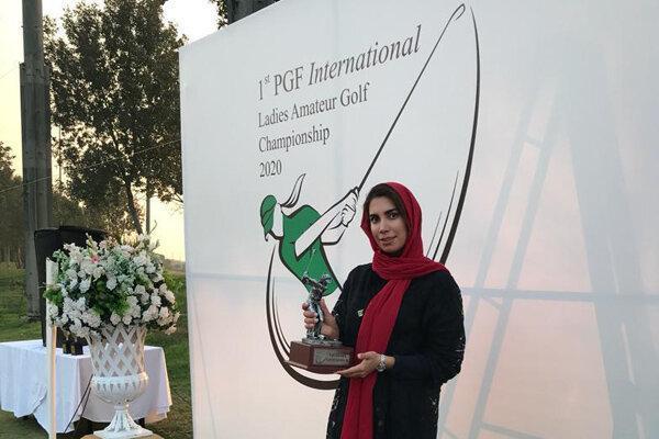 قهرمانی ملی پوش ایران در مسابقات گلف پاکستان