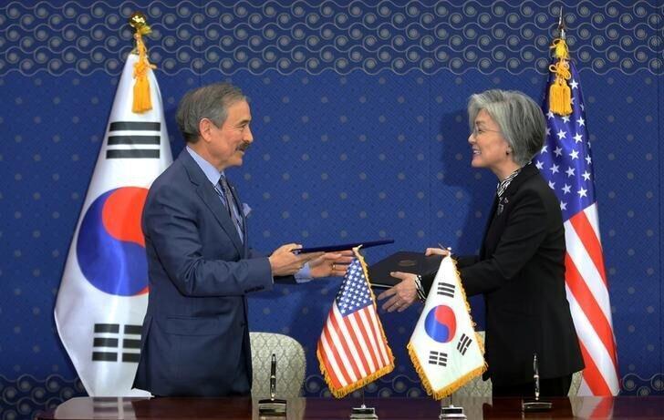 سفیر آمریکا در کره جنوبی استعفا می دهد