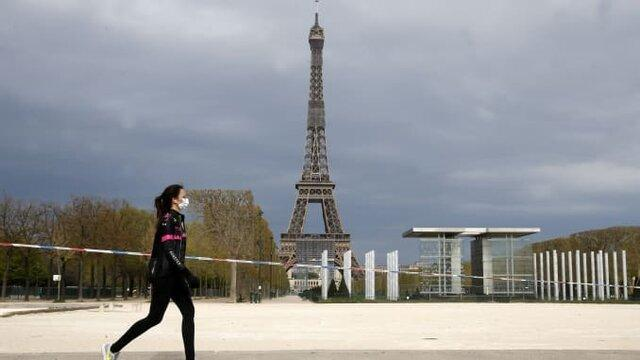 ادامه قرنطینه در فرانسه تا 22 اردیبهشت
