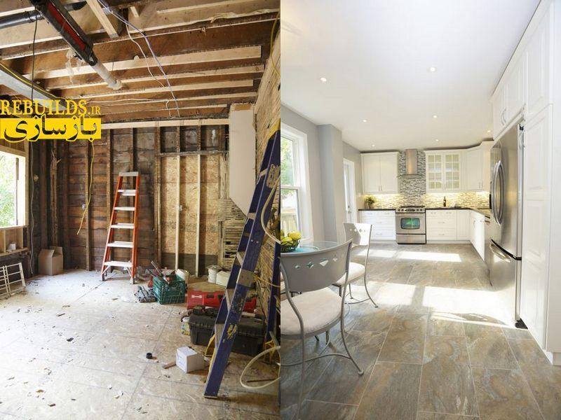 موارد ضروری در بازسازی ساختمان