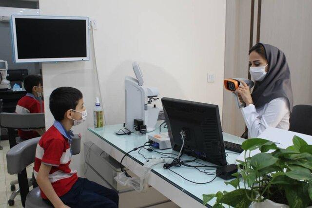 شروع اجرای برنامه پیشگیری از تنبلی چشم در خوزستان