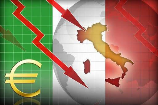 کاهش دو برابری فراوری ناخالص داخلی ایتالیا