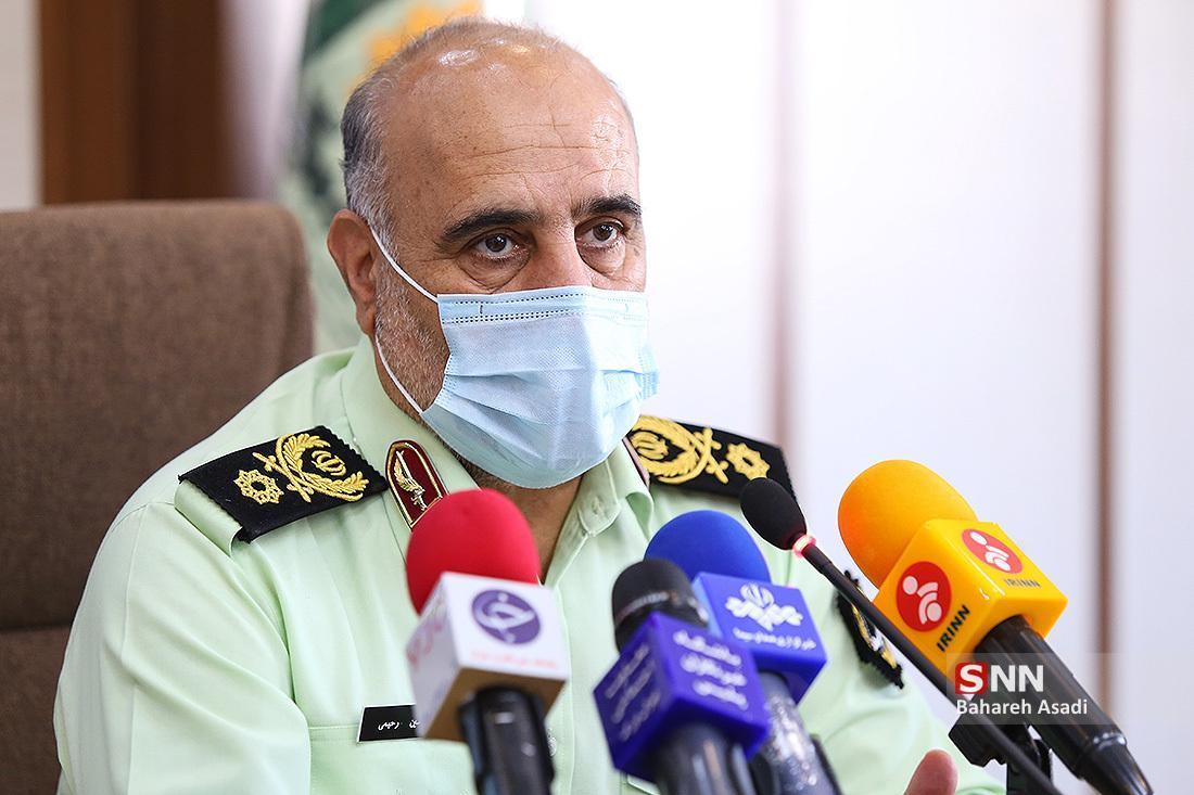 سردار رحیمی: پلیس 85 درصد جرائم فضای مجازی تهران را کشف نموده است ، کشف بیش از250 میلیارد تومان اموال قاچاق در امسال