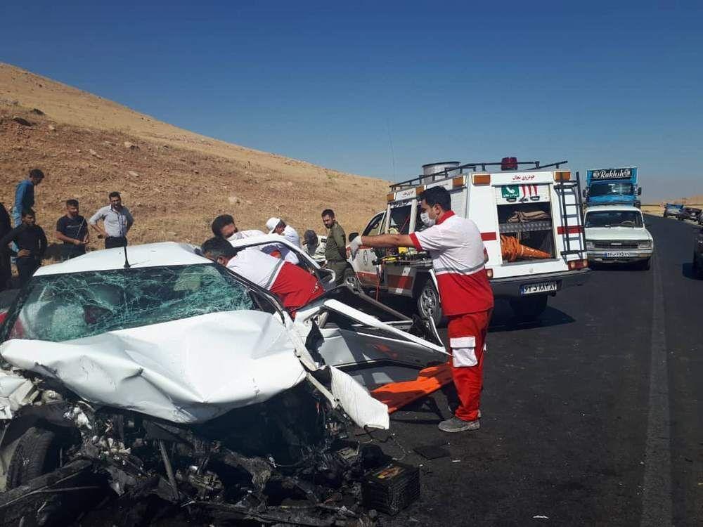 خبرنگاران کشته های ترافیکی استان مرکزی در محل حادثه افزایش یافته است