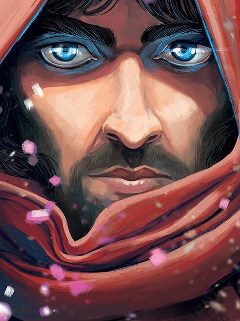 رمان گرافیکی ایرانی که به انگلیسی ترجمه شد