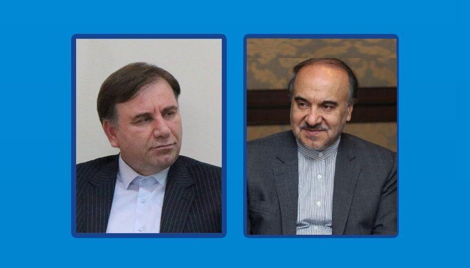 خبرنگاران استاندار گیلان تکمیل پروژه های ورزشی را در دیدار با وزیر پیگیری کرد