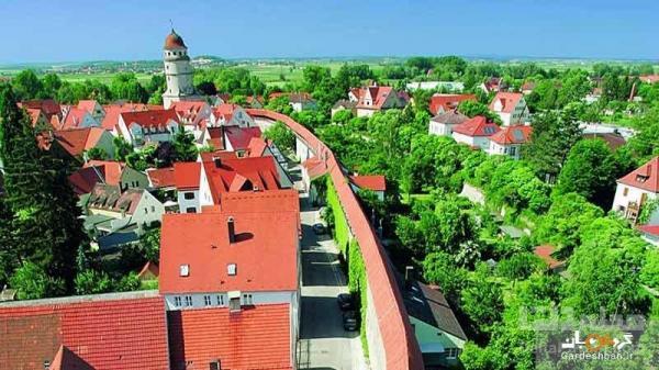نوردلینگن؛شهر زیبایی که حاصل برخورد شهاب سنگ به زمین است!