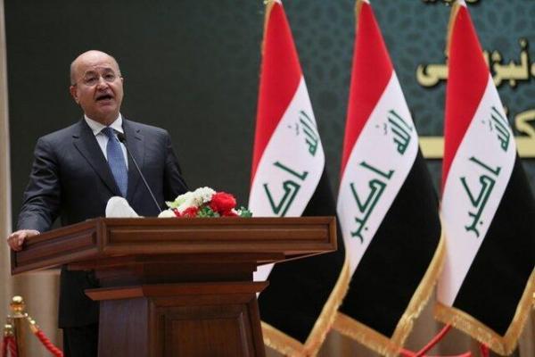برهم صالح: سلاح باید در انحصار دولت قرار بگیرد