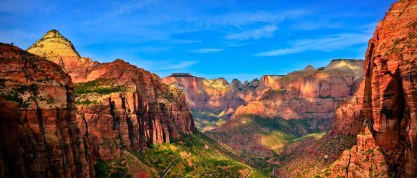 سفر به آمریکا: 10 سرگرمی در پارک ملی zion ایالت یوتا