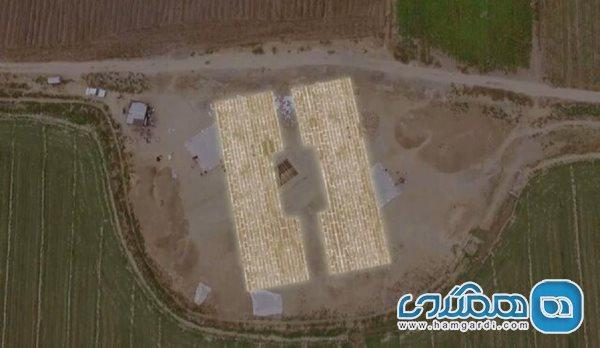 اعلام کشف محل دروازه پارسه در نزدیکی تل آجری