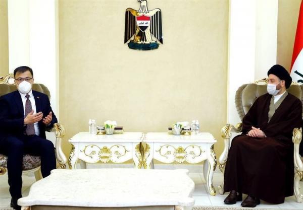 عراق، رایزنی حکیم با سفیر چین، تاکید بر لزوم کاهش تنش در منطقه