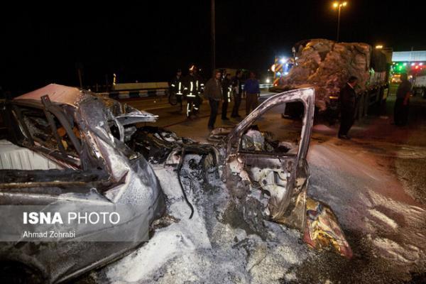 1187 مصدوم در حوادث نوروزی استان بوشهر