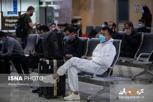 شرایط فرودگاه مهرآباد در روزهای پایانی سال، عکس