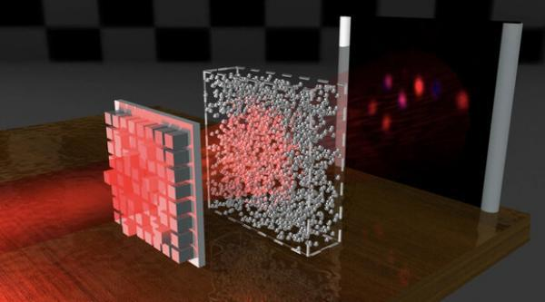 فناوری جدید با تاباندن نور اشیا را نامرئی می نماید