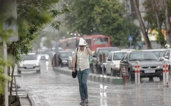 رگبار باران در 14 استان کشور