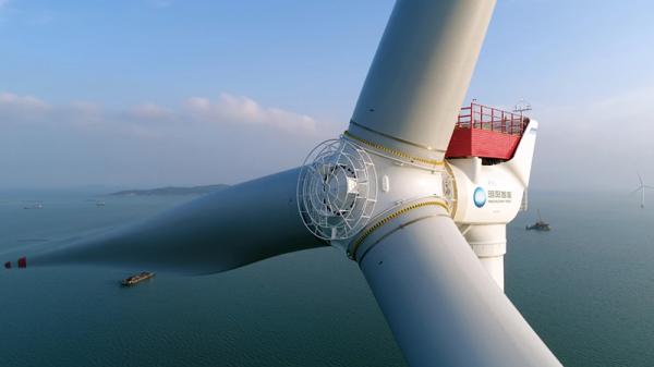 عظیم ترین توربین بادی دنیا با قدرت فراوری 16 مگاوات برق در چین ساخته می گردد